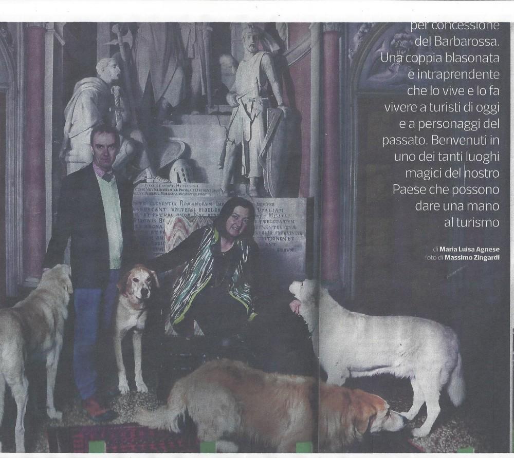 Castello Sannazzaro -  articolo-sette-de-corriere-della-sera-23122016-prima-pag