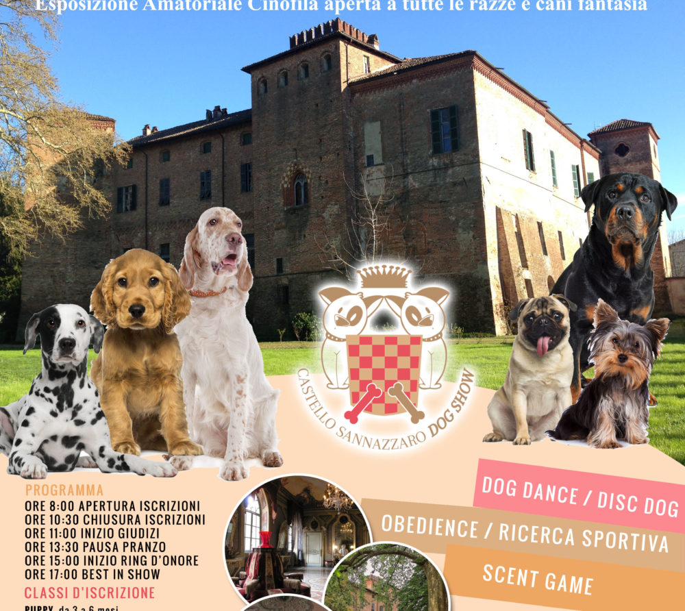 Castello Sannazzaro -  Italia Dog SHow 27052018